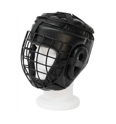TOP RING Helmet with Metal Front Protection