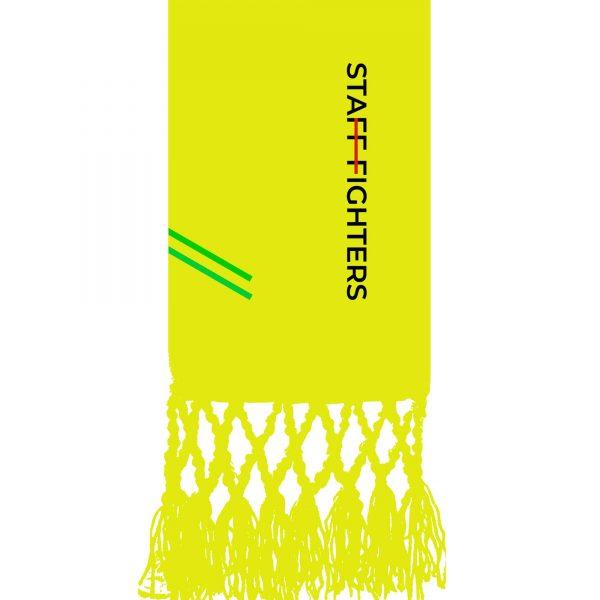 Cinta Amarelo 3º Grau STAFFFIGHTERS
