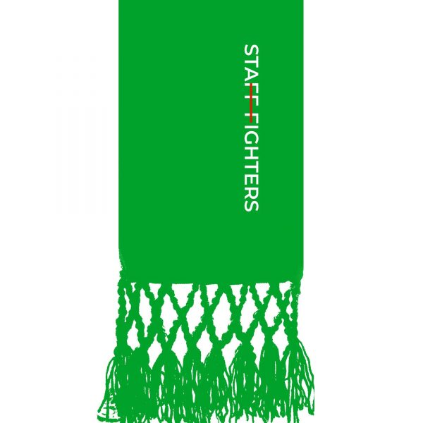 Cinta Verde 1º Grau STAFFFIGHTERS