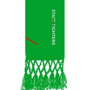 Cinta Verde 2º Grau STAFFFIGHTERS