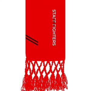 Cinta Vermelho 3º Grau STAFFFIGHTERS