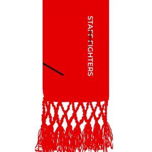 Cinta Vermelho 2º Grau STAFFFIGHTERS