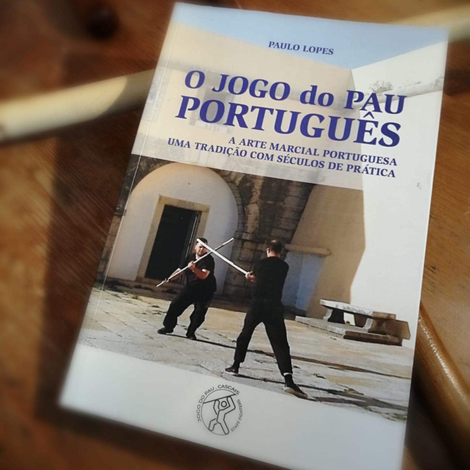"""Lançamento do Livro """"O Jogo do Pau Português"""" por Paulo Lopes."""