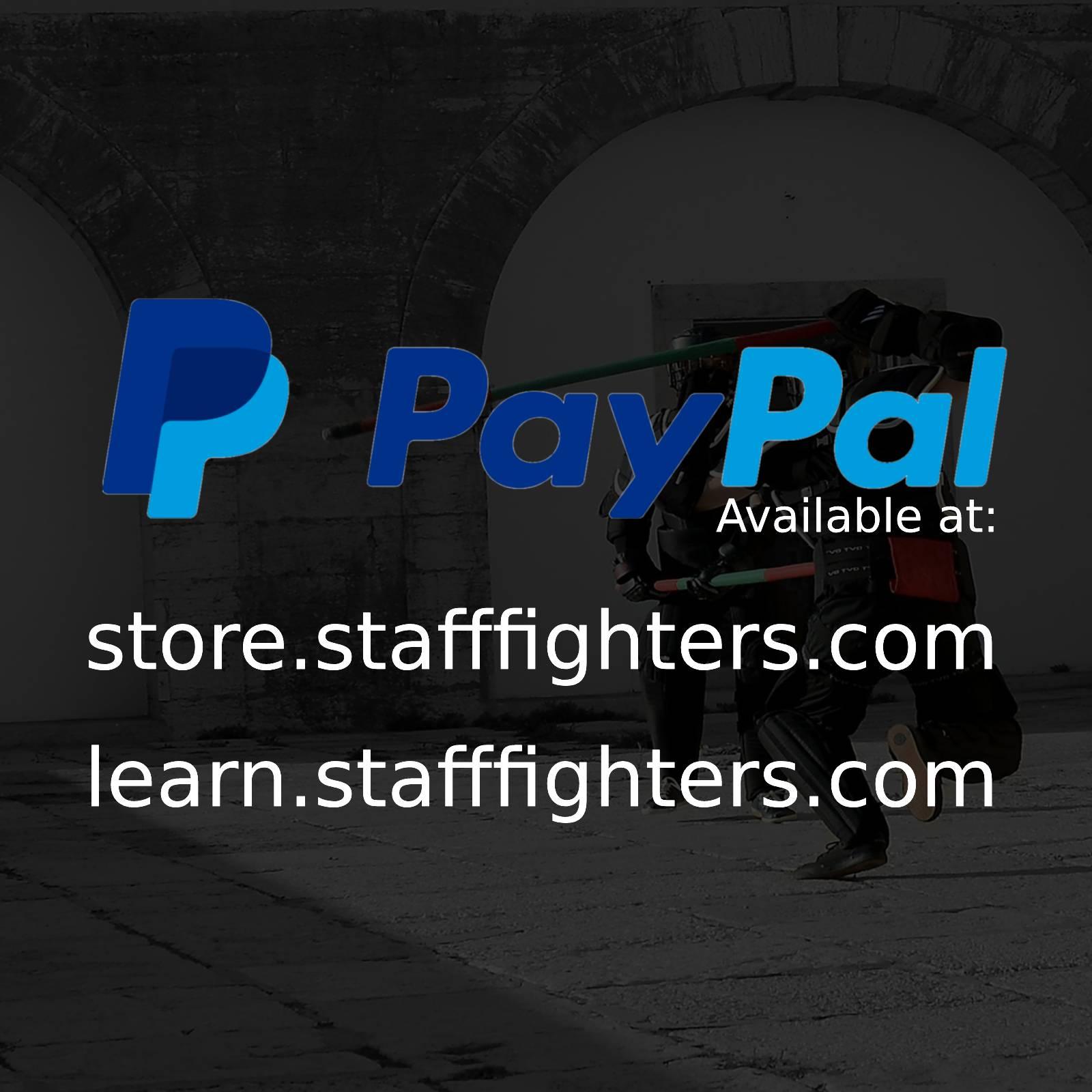 Pagamento por PayPal disponível no nossos sites